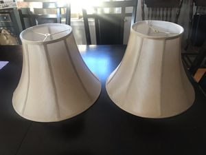 Pair of Lamp Shades for Sale in Woburn, MA