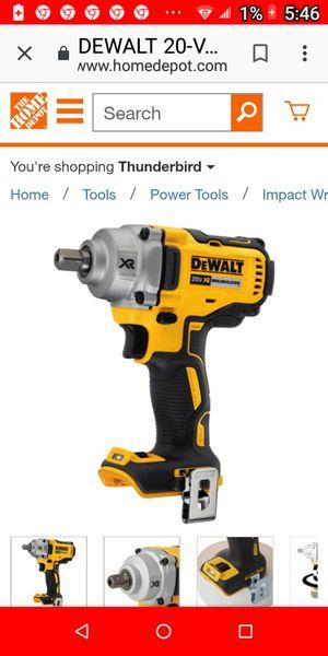 DeWalt 2o volt brushless precision wrench for Sale in Phoenix, AZ