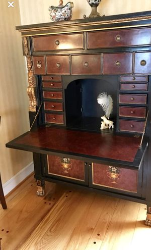 Chinese Secretary - Only one made of its kind for Sale in Reidsville, NC