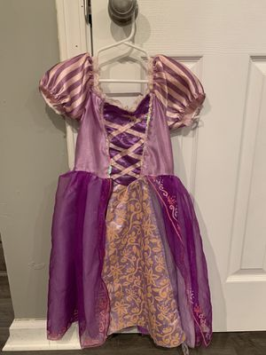 Repunzel dress up costume for Sale in Wheeling, IL