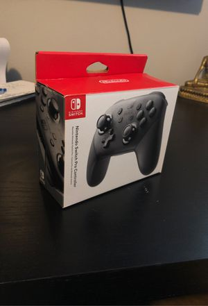 Used once Nintendo switch Pro Controller for Sale in Kenmore, WA