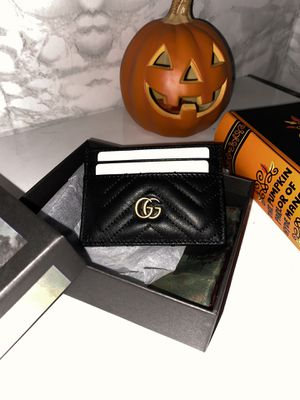 Black Gucci card case wallet for Sale in Compton, CA