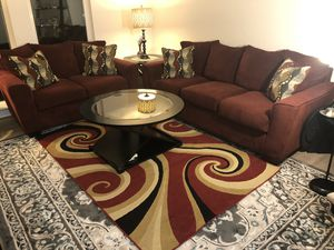 Sofa and Rug for Sale in Annandale, VA