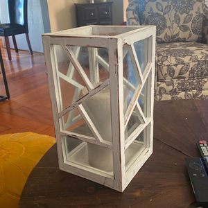 Decorative Candle Holder (includes Large Candle) for Sale in Providence, RI