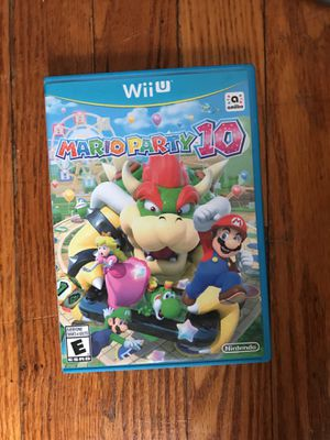 Wii U Mario party 10 for Sale in Cuyahoga Falls, OH