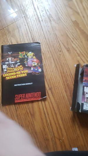 Mario rpg complete for Sale in Henrietta, NY