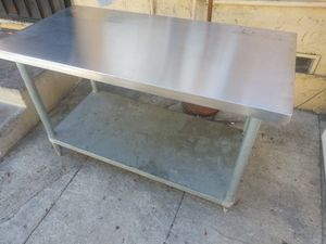 Stainless steel table for Sale in CRYSTAL CITY, CA