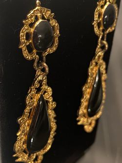 Beautiful Gold and Black Dangles for Sale in Alexandria,  VA