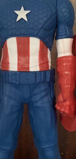 """Marvel Captain America 20"""" Action figure Hero Legend for Sale in Santa Clarita,  CA"""