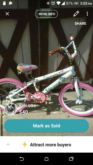 Girls Kids bike for Sale in Cleveland, OH