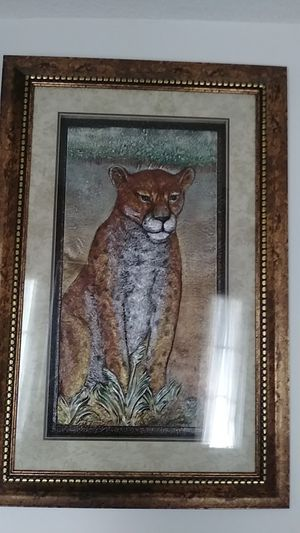 Cheetah picture frame for Sale in Fort Washington, MD
