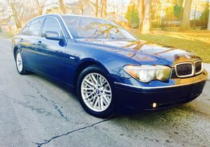 $3500 is the down payment + 2005 BMW 745li + Camel Leather + Clean title for Sale in Takoma Park, MD