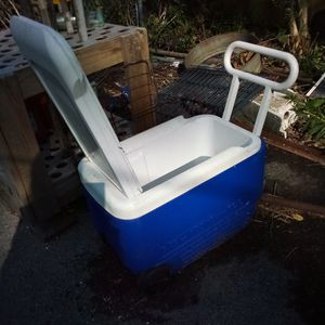 Igloo cooler on wheels. for Sale in Rochester, NY