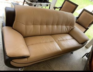 2 nice leather couch for $100 for Sale in San Diego, CA