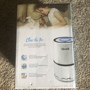 LEVOIT Air Purifier for Home, H13 True HEPA Filter for Allergies and Pets, Dust, Mold, and Pollen, Smoke and Odor Eliminator, Cleaner for Bedroom with for Sale in Cerritos, CA