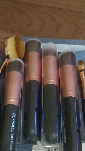 Bs-Mall Kabuki makeup brush set for Sale in Lakewood, OH