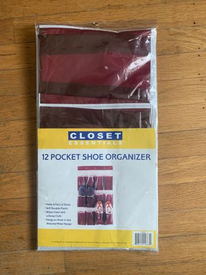 New 12 Pocket Closet Shoe Organizer for Sale in Portland, OR