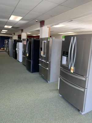 New Refrigerator on SALE!! Samsung Whirlpool Frigidaire LG and more!! ALL with warranty! 0V for Sale in Monrovia, CA