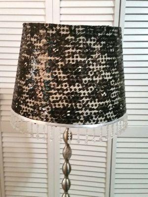 Two Black sequin beaded lamp shades for Sale in Atlanta, GA