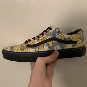 Size 10 Official Simpson's Vans Collab for Sale in Kennesaw, GA