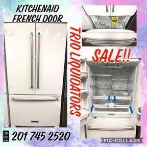 Refrigerator KitchenAid French door SALE!! for Sale in Garfield, NJ