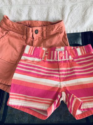 2 Girls pink shorts 6X/7, 8 —Justice + Children's Place for Sale in Henderson, NV