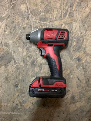 Milwaukee cordless heavy duty impact drill for Sale in Los Nietos, CA