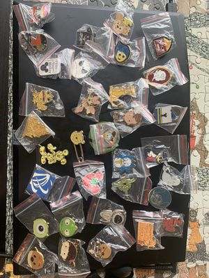 71 pc assorted official Disney pins for Sale in Saint Paul, OR