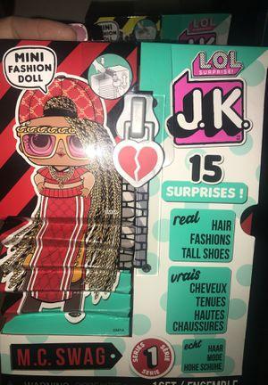 LOL surprise JK doll MC swag for Sale in Fresno, CA