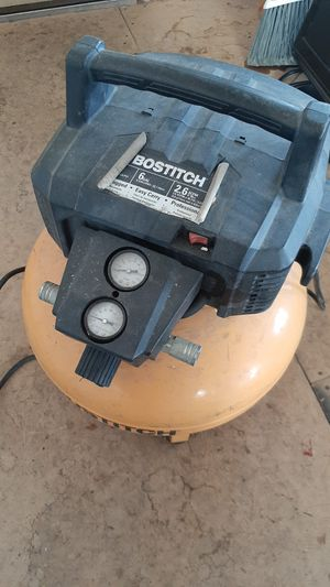 Bostich 6 gal pancake compressor for Sale in Seeley Lake, MT