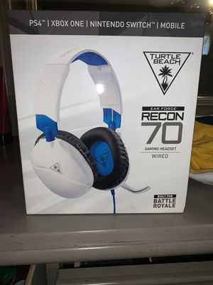 BRAND NEW: Turtle Beach Recon 70 Headsets for Xbox, PS4 and Nintendo for Sale in Spring Hill, FL