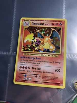 FRESH OUT OF PACK CHARIZARD XY EVOLUTIONS POKEMON CARD for Sale in Gainesville, VA