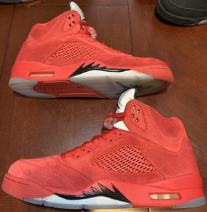 Air Jordan 5 Retro. (Red Suede) Men's Size 13. for Sale in Milwaukee, WI