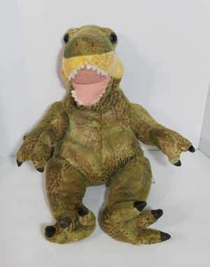 """RETIRED Build A Bear Dinosaur Green T-Rex Plush Toy 17"""" Stuffed Animal BABW for Sale in Dale, TX"""