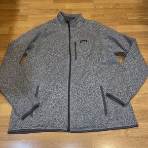 Patagonia Better Sweater Men's 2XL Grey Sweatshirt NWT for Sale in Portland, OR