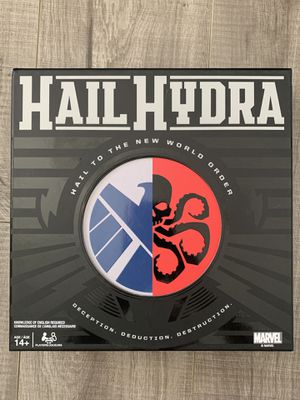 Hail Hydra, MARVEL Hero Board Game for Teens & Adults Age 14 & Up- Brand New! for Sale in Westminster, CA