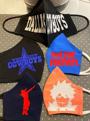 Custom face masks for Sale in Silver Spring, MD
