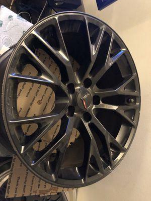 """C7 Z06 OEM wheels 19"""" x 10"""" 20"""" x 12"""" for Sale in Vernon, CA"""
