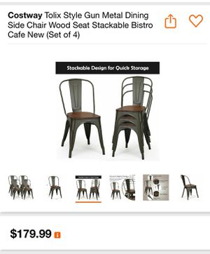 Brand new set of four chairs for Sale in Fontana, CA