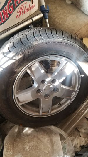 New tires and wheels. For a jeep. for Sale in Commerce, CA