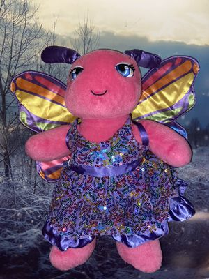 Rare Build a Bear workshop Butterfly with detachable wings & Dress for Sale in Lakewood, CA