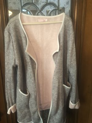 Pink and grey cardigan for Sale in Eastlake, OH