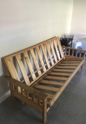 Nice pine wood futon for Sale in Tempe, AZ
