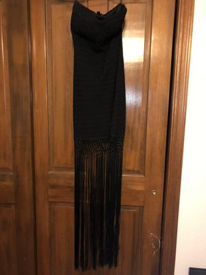 black fringe dress for Sale in Chandler, AZ