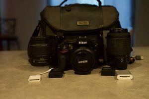 Nikon D5200 DSLR Bundle for Sale in San Antonio, TX