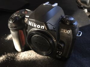 Great Nikon D100 Digital camera with lens for Sale in West Collingswood Heights, NJ
