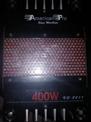 American Pro 2-channel amplifier for Sale in La Vergne, TN