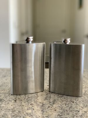 Stainless Steel Flask Set of 2 for Sale in Washington, DC