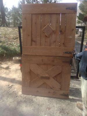 Antique barn doors. Heart pine for Sale in Easley, SC