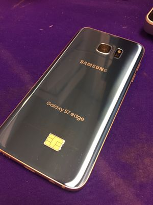 Samsung Galaxy S7 edge unlocked with charger and warranty! for Sale in Columbus, OH